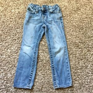 Boys true religion straight jeans size 6